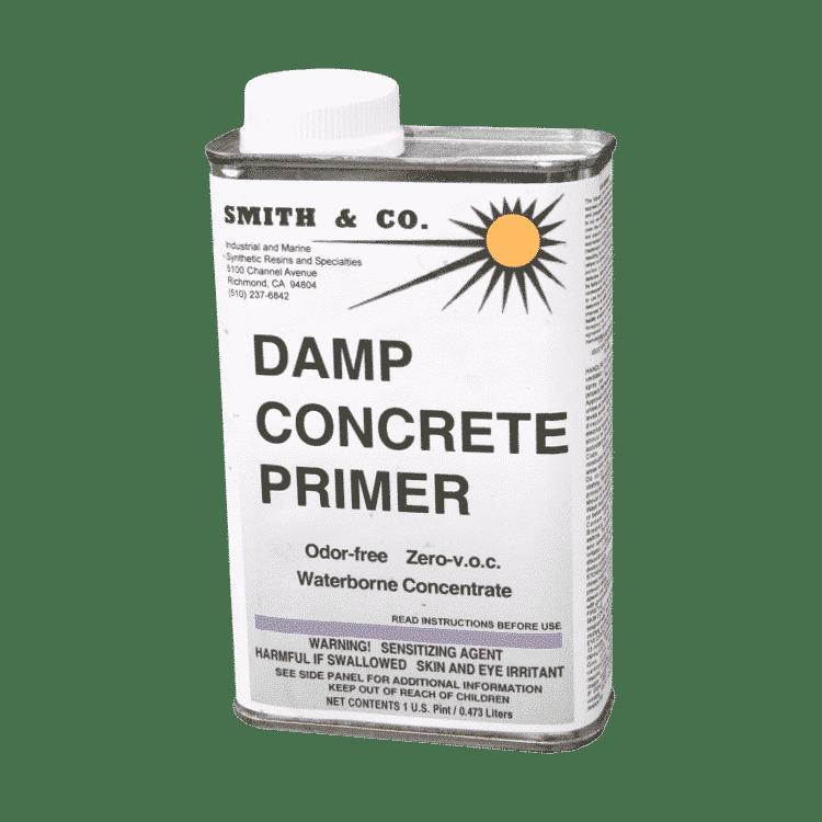 Damp Concrete Primer