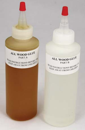which wood glue epoxy wood adhesive bottles
