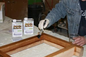 low maintenance wood windows smiths clear penetratign epoxy sealer application