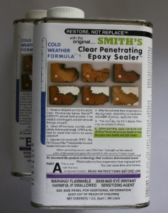 Clear Penetrating Epoxy Sealer