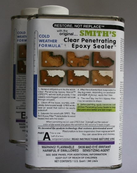 Clear Penetrating Epoxy Sealer CPES