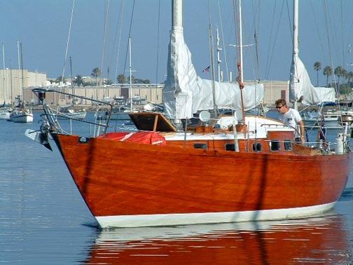 permanent varnish finish on boat