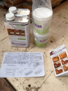 Caulking Wooden boat, Smiths CPES and Fill-It