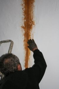 render crack repair add sand