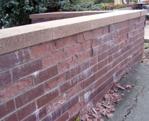 freeze thaw damage in clay faced brick