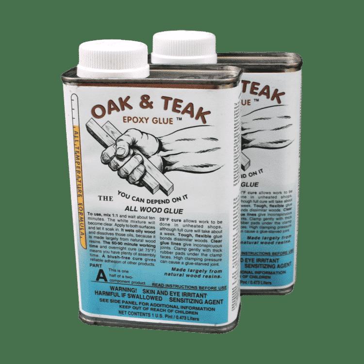 oak and teak epoxy wood glue waterproof permanent strong gap filling 2pt 950ml