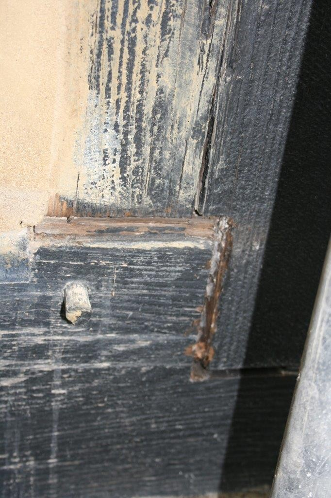 wood crack repairs that have failed