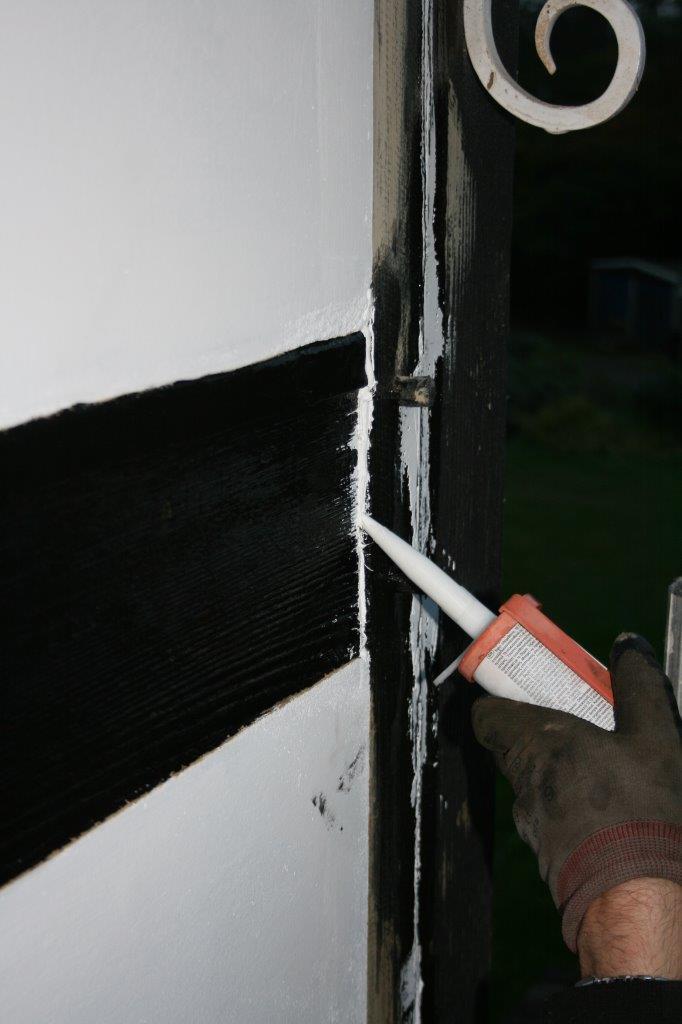 Wood Crack Repair How To Repair Cracks In Exterior Timber