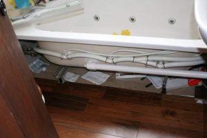Walnut Bathroom Flooring