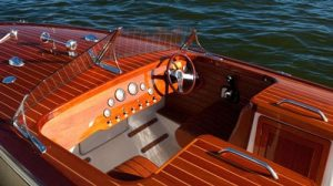 stain wood boat to achieve uniform colour