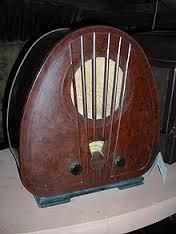gluing bakelite radio
