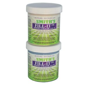 fill-it permanent waterproof epoxy flexible wood filler smiths 950ml