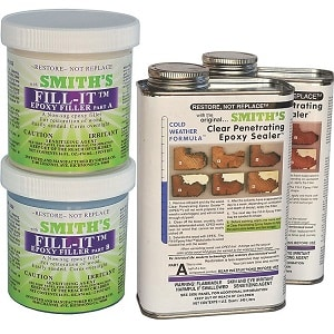 rotten wood repair kit cpes fill-it epoxy resins