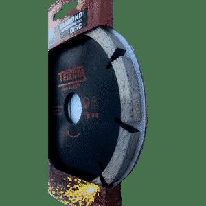 mortar rake disk render crack repair side view