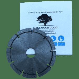 makewoodgood mortar rake render crack repair